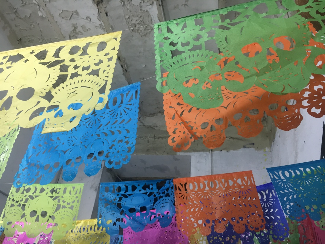 day of the dead bunting photo