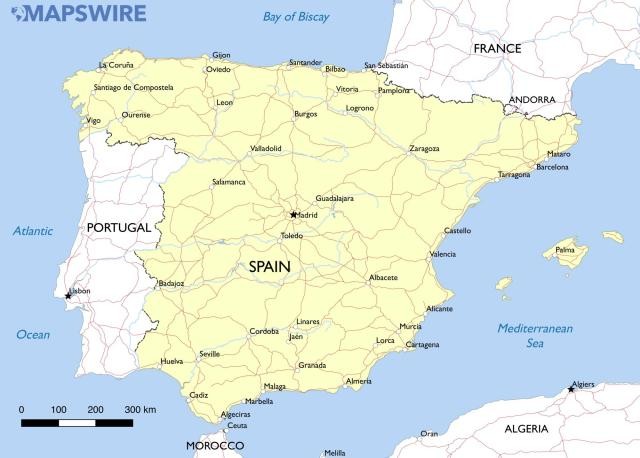 spain-simple-map-large